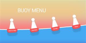 js波浪动画效果菜单样式