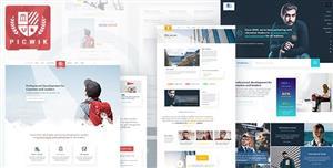 大气HTML5大学院校官方网站模板响应式UI框架