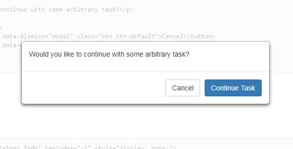 bootstrap弹出模态窗口增强插件