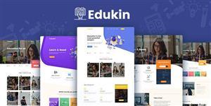 响应式教育行业网站html模板前端框架