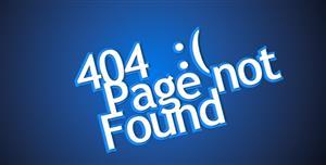 创意404页面文本动画特效