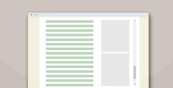 sticksy.js页面滚动div固定位置插件
