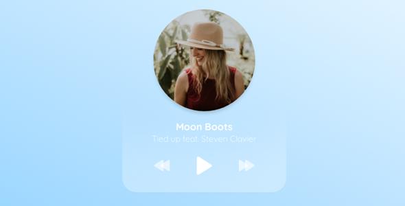 TweenMax+SVG音乐MP3播放器