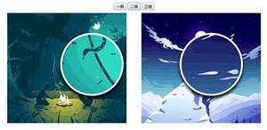 jquery两张图片放大镜对比插件