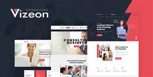 宽屏大气商业咨询公司网站Bootstrap模板