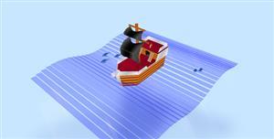 纯css3实现3d帆船动画特效