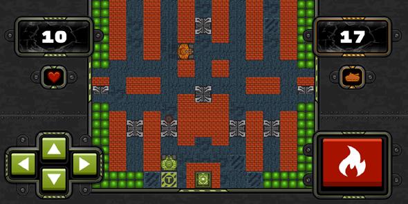 坦克大战h5小游戏源码