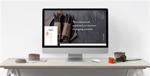 大气响应式单页HTML5餐厅网站模板