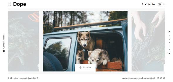 HTML5摄影作品个人图片网站模板源码下载