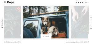 HTML5摄影作品个人图片网站模板