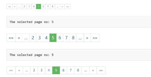 jquery多参数分页插件