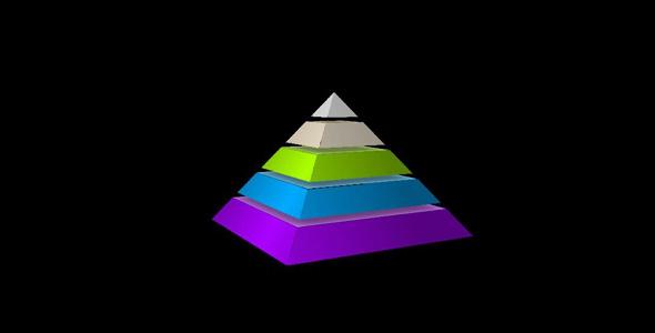 纯css3金字塔样式特效代码源码下载