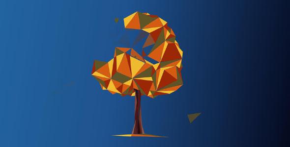 svg实现的树木四季变化
