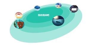 css3类似太阳系按轨迹旋转