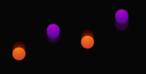 彩色css3小球跳动loading特效源码下载