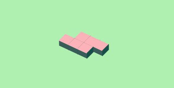 纯css3方块无限循环加载特效源码下载
