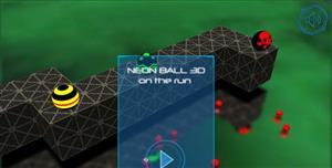 霓虹球3D滚动js小游戏源码