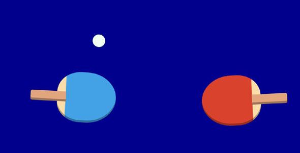 纯css3打乒乓球动画特效源码下载
