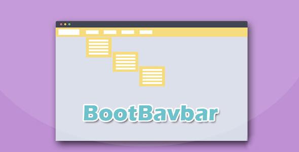 Bootstrap实现的多级顶部导航菜单插件