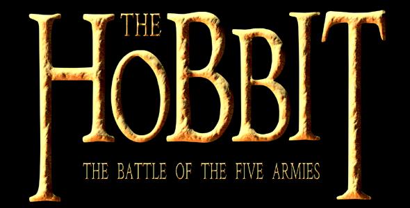 SVG霍比特人电影标题样式