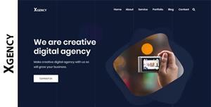 创意响应网络公司网站静态HTML模板