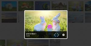 jquery图片弹出放大插件lightBox.js
