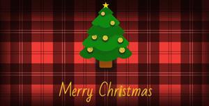 js圣诞节快乐背景特效