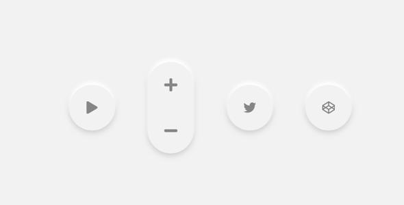 svg计算器按钮3d样式