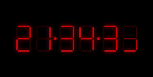 js电子时钟效果代码