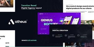 HTML5时尚数字机构迷你网站模板