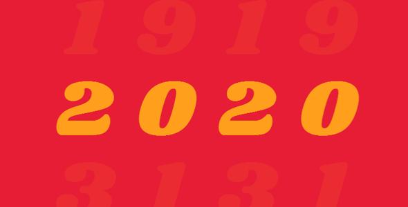 css3 keyframes一百周年数字滚动特效