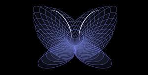 css3蝴蝶线条特效代码