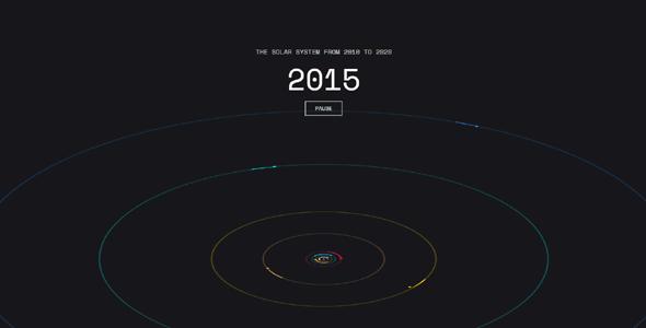 2010-2020年太阳系动画特效