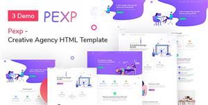 插画风格咨询业务公司网页Bootstrap模板