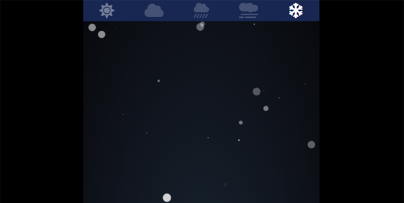 js各种天气动画特效代码