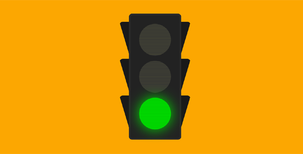 css绘制的交通灯网页代码