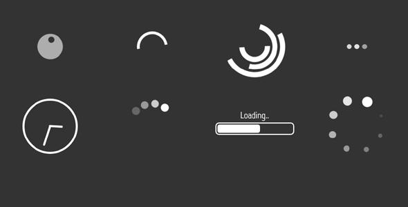 CSS Loader加载中动画特效源码下载