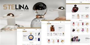 漂亮的香水商店网页HTML模板