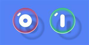 创意透明泡泡Toggle切换按钮样式