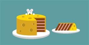 css老鼠偷吃蛋糕网页代码