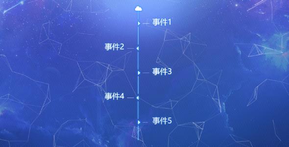 公司发展事件时间轴js特效源码下载