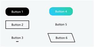 6种漂亮的按钮样式