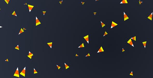 js三角碎屑动画网页代码源码下载