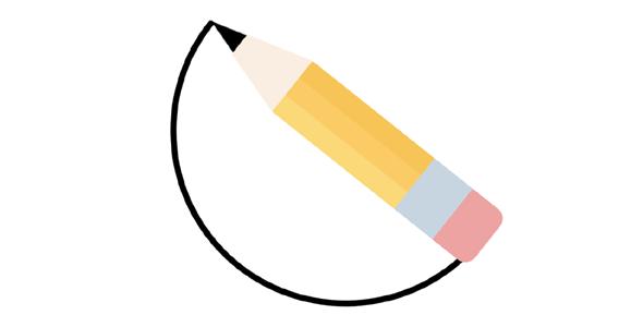 css3铅笔画圆旋转动画源码下载