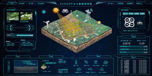 农业监测大数据可视化