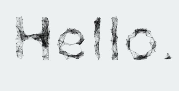 html canvas文本粒子动态特效源码下载