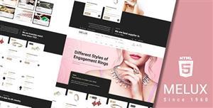 珠宝首饰类电商网页HTML模板