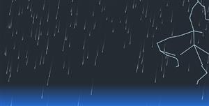 p5.js打雷下雨闪电网页特效