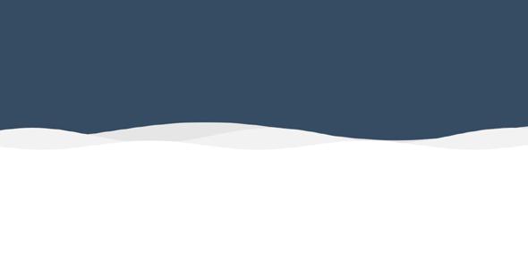 SVG网页波浪动画效果背景