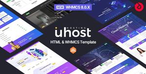 whmcs8云服务网站主题模板
